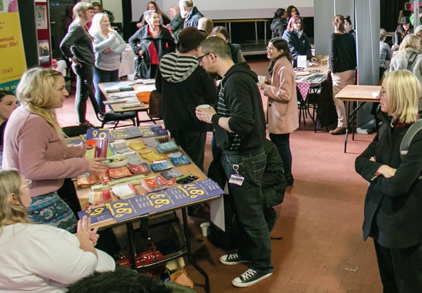 We delivered the first Information Sharing Fair as part of Homelessness Awareness week
